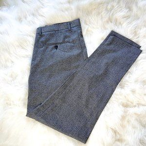 Nocode Solid Dress Pants Gray Size 32